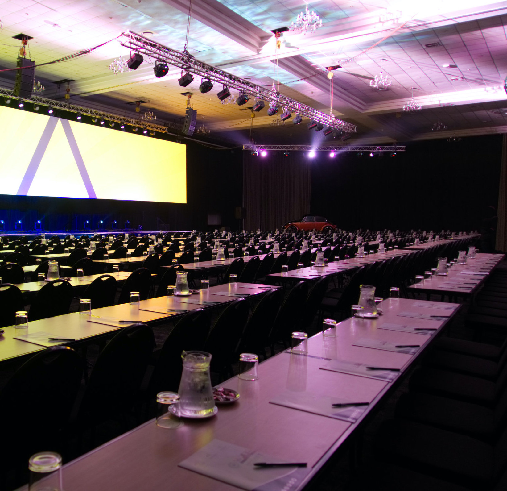 birchwood OR tambo centre stage, tables, and chairs