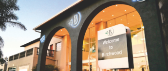 birchwood hotel from outside with