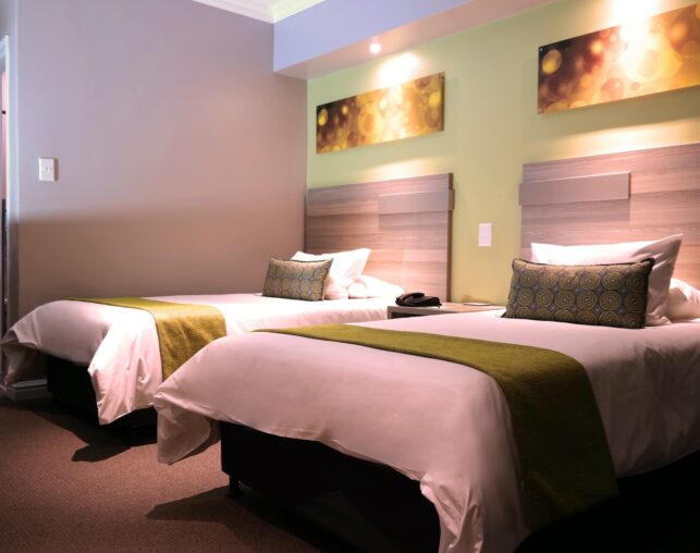 ValuStay guest room with two beds